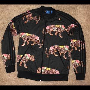 Adidas Originals x FARM Leopard Track Jacket